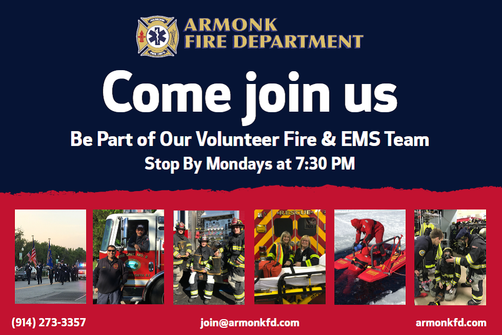 Come Join Us - Armonk Fire Department